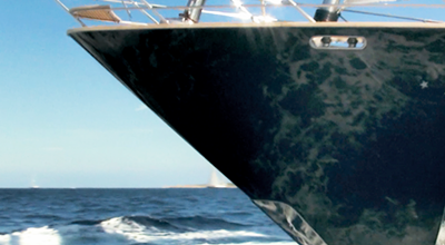 Expancel Microspheres are used in nonwoven composites for boats.