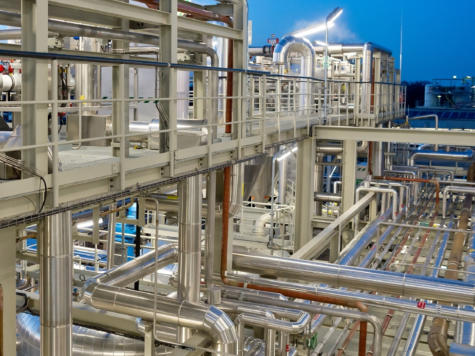 Chemical production plant image. Our chemical intermediates are important building blocks in various end-use industries.